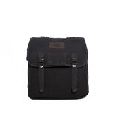 Musette Backpack - Black & Denim Apparel Company