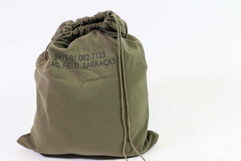 Canvas Barrack Bag