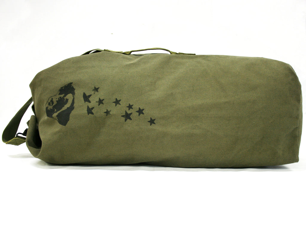 Top Load Duffle - Black & Denim Apparel Company