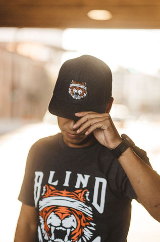 Blind Tiger Coffee Roasters Snapback - Wool Charcoal