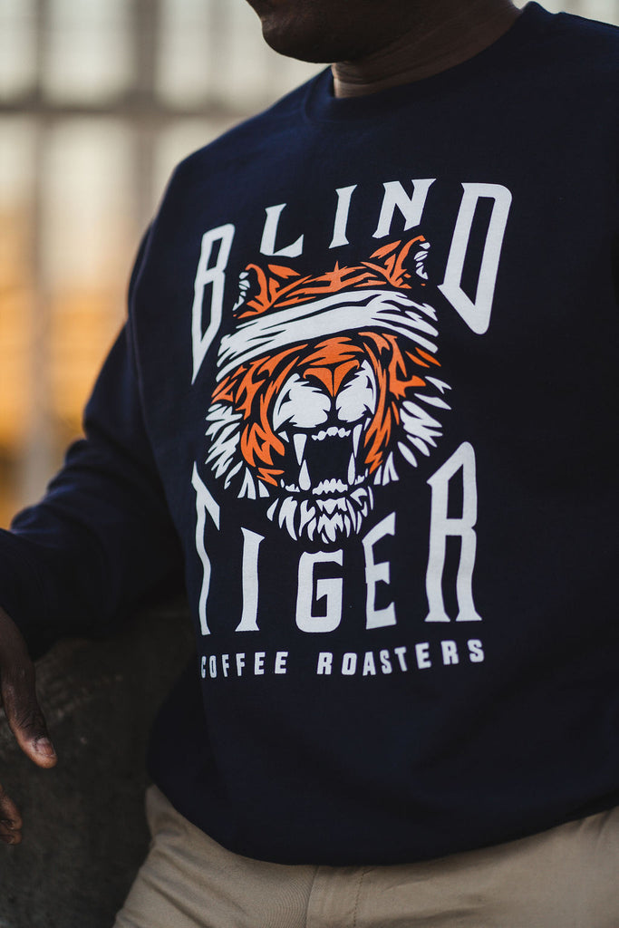 Blind Tiger Coffee Roasters Unisex Crewneck Sweater
