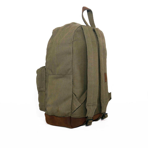 Teardrop Canvas Backpack - Black & Denim Apparel Company