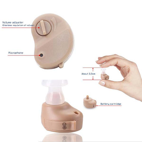 Invisible Ear Hearing Aid