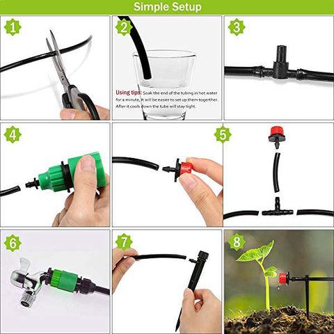 Ihrtrade,Household,LE71936495,Garden Irrigation System,Automatic Watering System For Plants,Automatic Watering System For Outdoor Plants