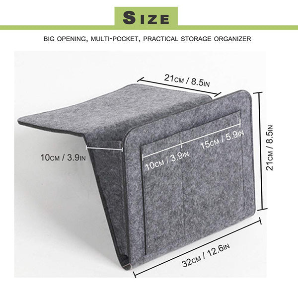 Sofa Bedside Felt Storage Bag