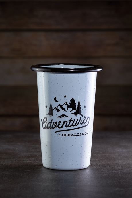 Adventure Is Calling Stainless Steel Tumbler