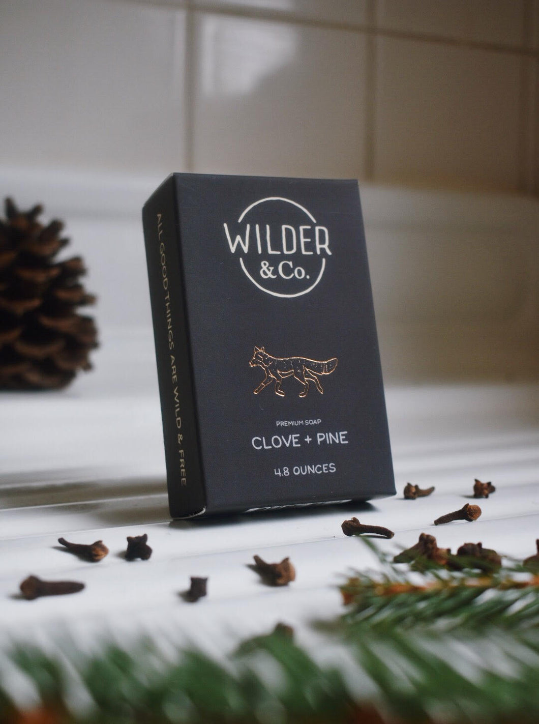 Clove + Pine Premium Bar Soap