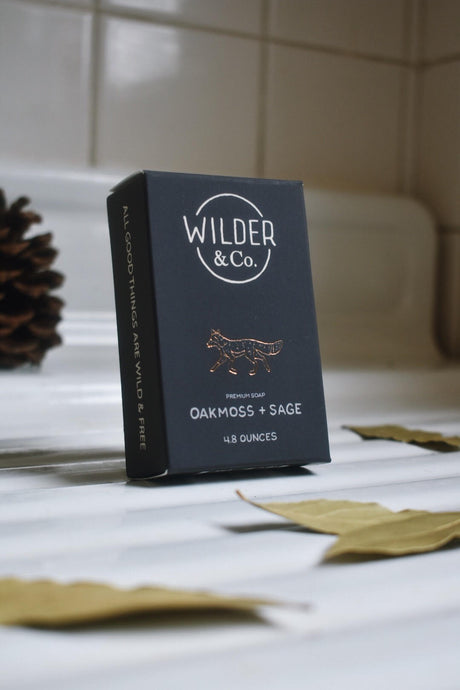 Oakmoss + Sage Premium Bar Soap