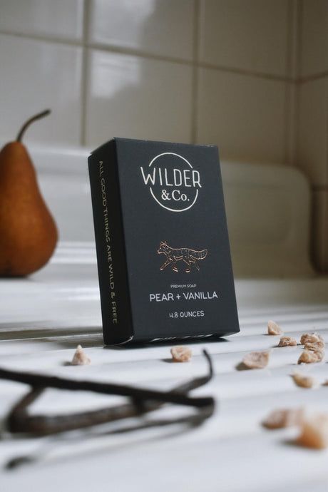 Pear + Vanilla Premium Bar Soap