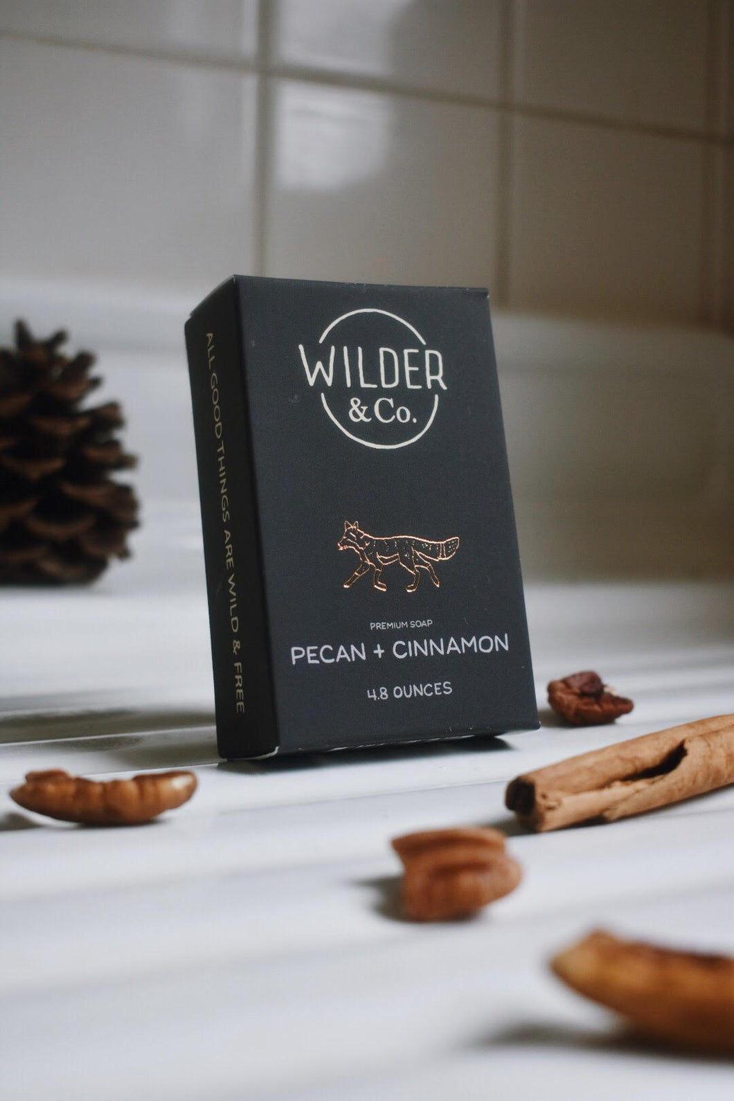 Pecan + Cinnamon Premium Bar Soap