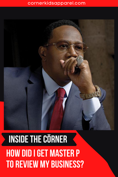 How did I get Master P To Review Corner Kids?