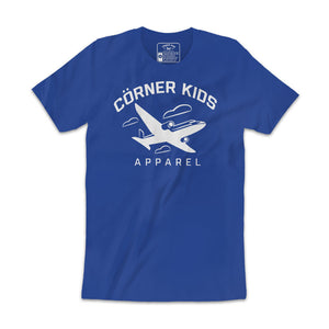Online Crewneck Mens ROYAL BLUE Tee