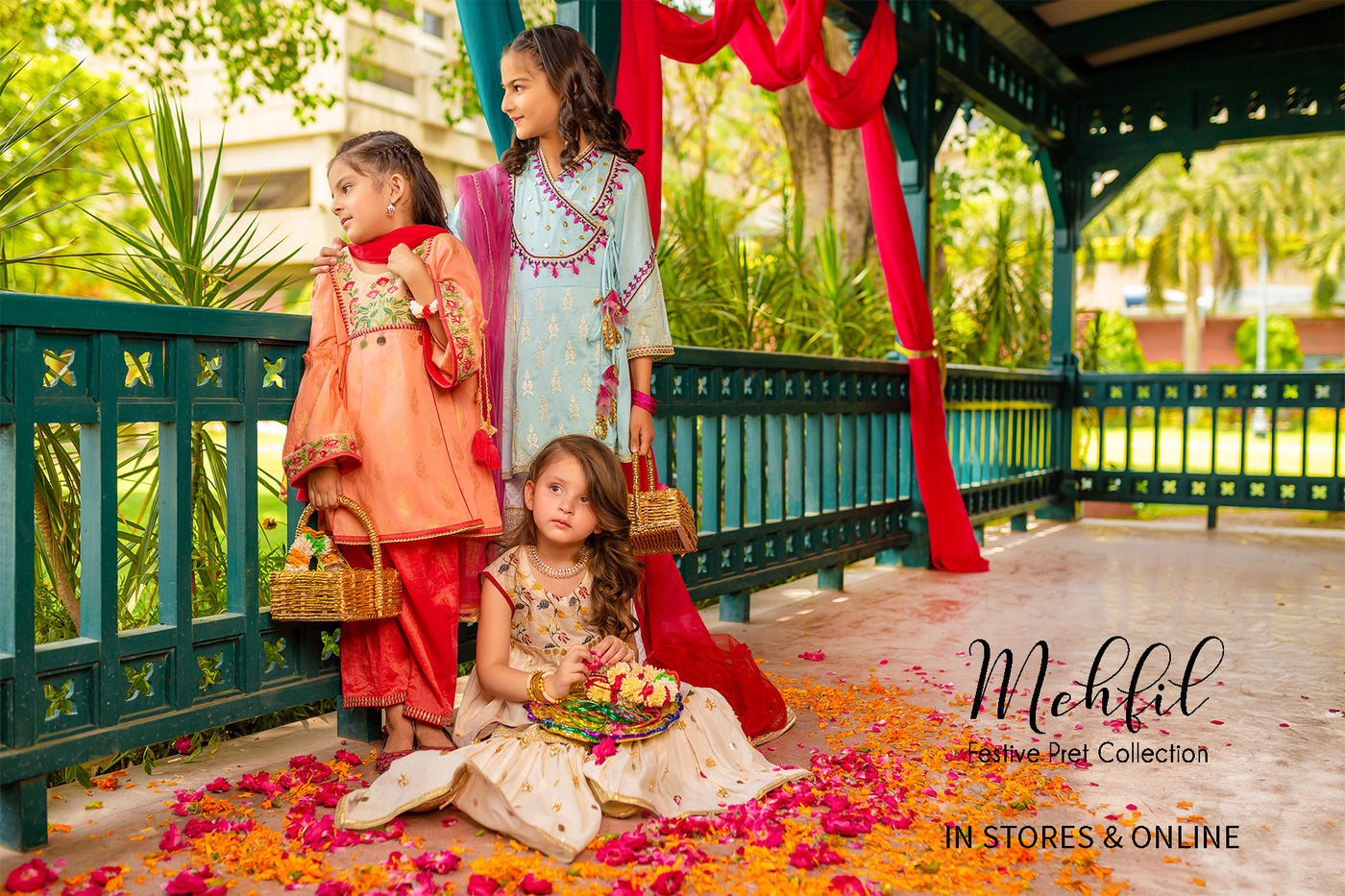 Mehfil Kids Eid Collection