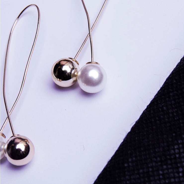 MODERN PEARL EARRINGS ER-104