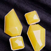 YELLOW ROCK EARRINGS ER-119