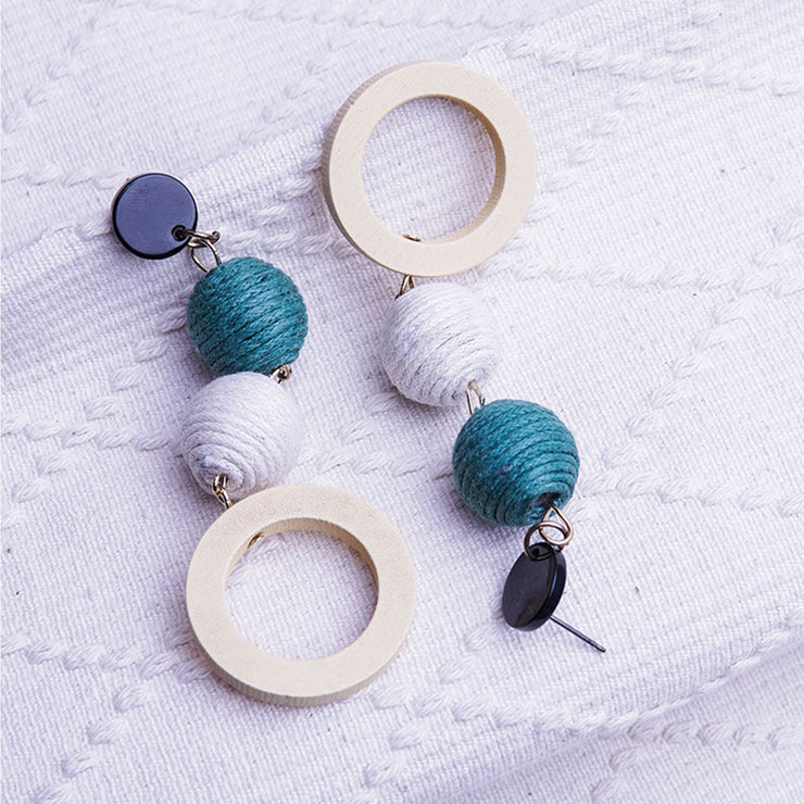 CREATIVE BALLS EARRINGS ER-128
