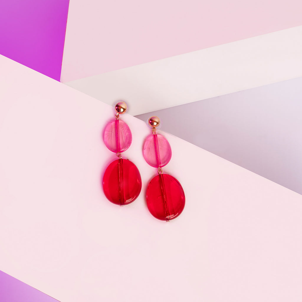 Pink Pop Earrings ER-150A