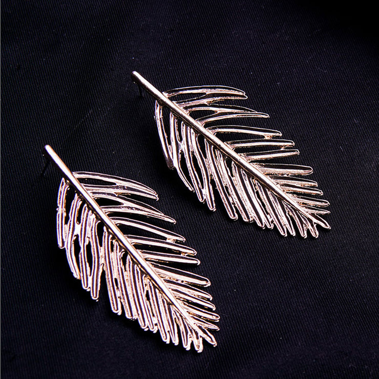 GOLD LEAF EARRINGS ER-132