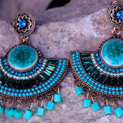 AFGHANI TRIBAL EARRINGS B ER-124B