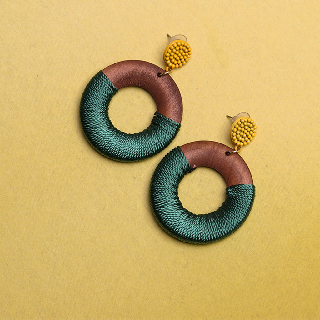 Rings of Threads Earrings ER-116