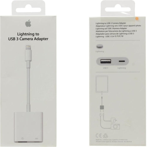 Adaptador Camara Lightning A Usb3 Apple Mk0w2am/a