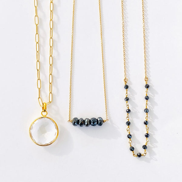 Black Spinel & Gold Collection