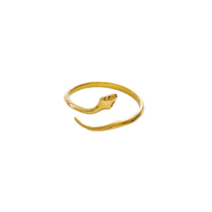 Adjustable Snake Ring