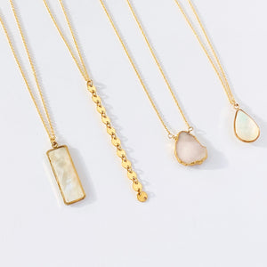 Mother Of Pearl & Druzy Collection