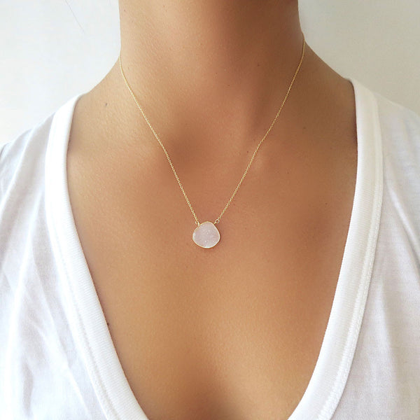 Crystal Druzy Necklace
