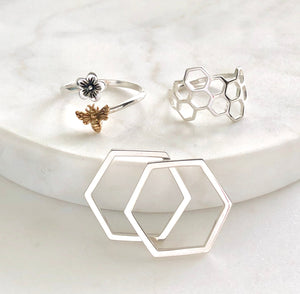 Honeycomb Stacking Ring