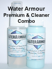 Water Armour Premium Glass & Plastic/Cleaner & Conditioner Combo