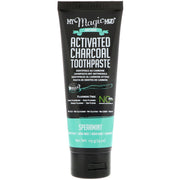 MY MAGIC MUD - Activated Charcoal Toothpaste Spearmint (113g) - Anzfo