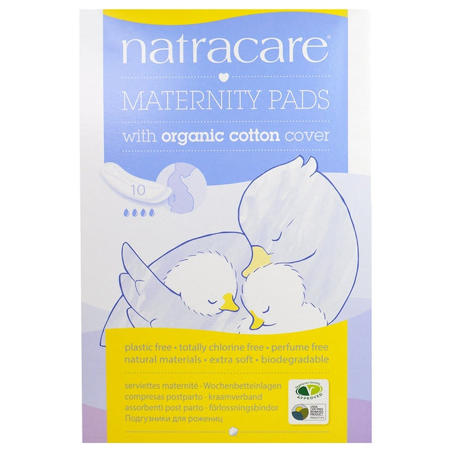 Natracare Maternity Pads (10 Pack) - Anzfo