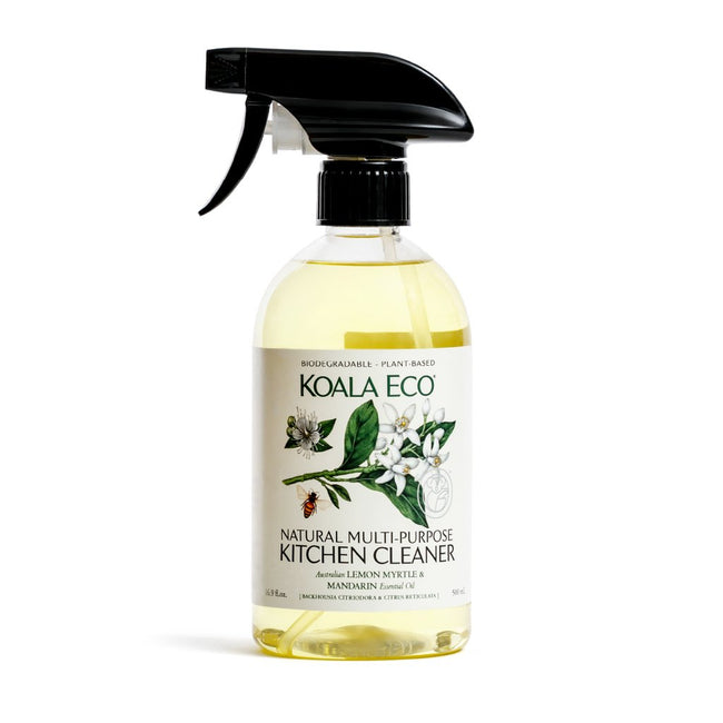 Koala Eco - Multi-Purpose Kitchen Cleaner - Lemon Myrtle & Mandarin (500ml) - Anzfo