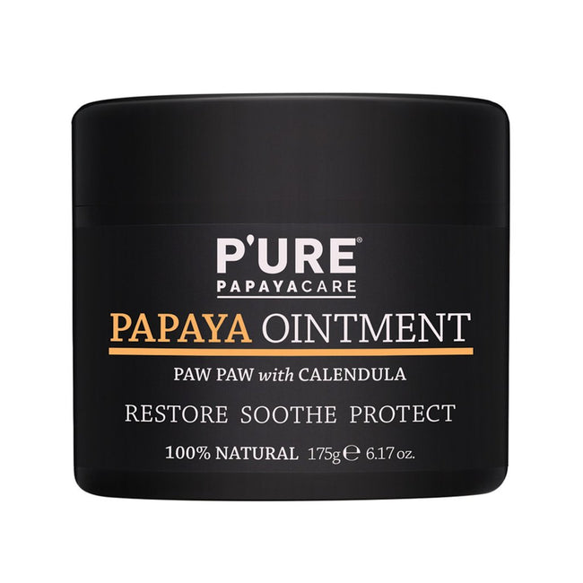 P'URE PAPAYA Ointment with Calendula (175g) - Anzfo