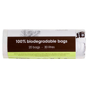 Biodegradable Bin Liners (20 Bags) - Anzfo