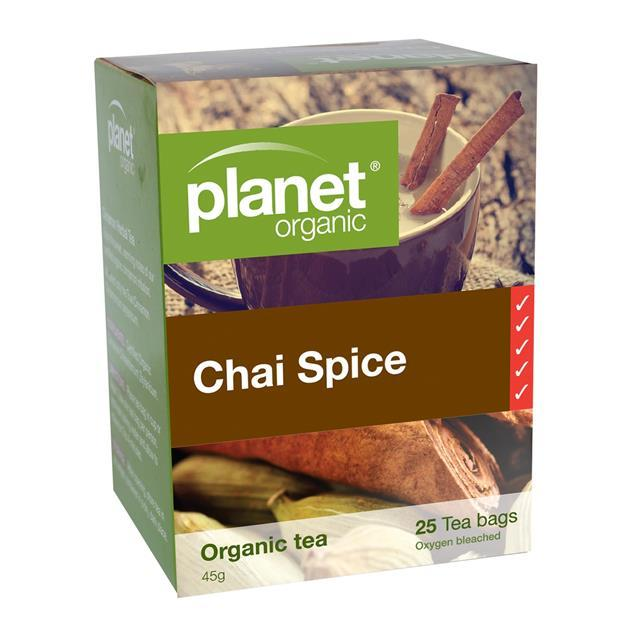 Herbal Tea Bags Chai Spice (25 Pack) - Anzfo
