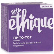 ETHIQUE Kids Solid Shampoo And Bodywash - Tip-To-Tot (110g) - Anzfo