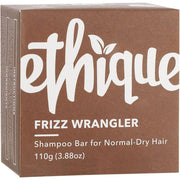 ETHIQUE Solid Shampoo Bar Frizz Wrangler - Dry Or Frizzy Hair (110g) - Anzfo