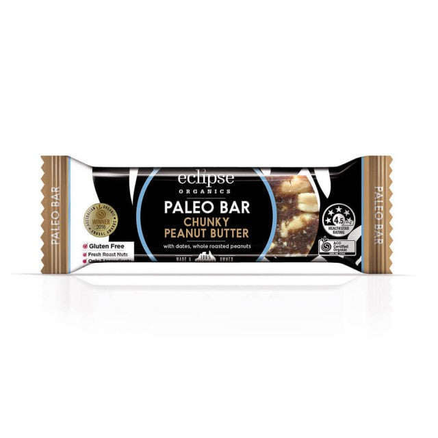 Organic Paleo Bar - Chunky Peanut Butter - Anzfo