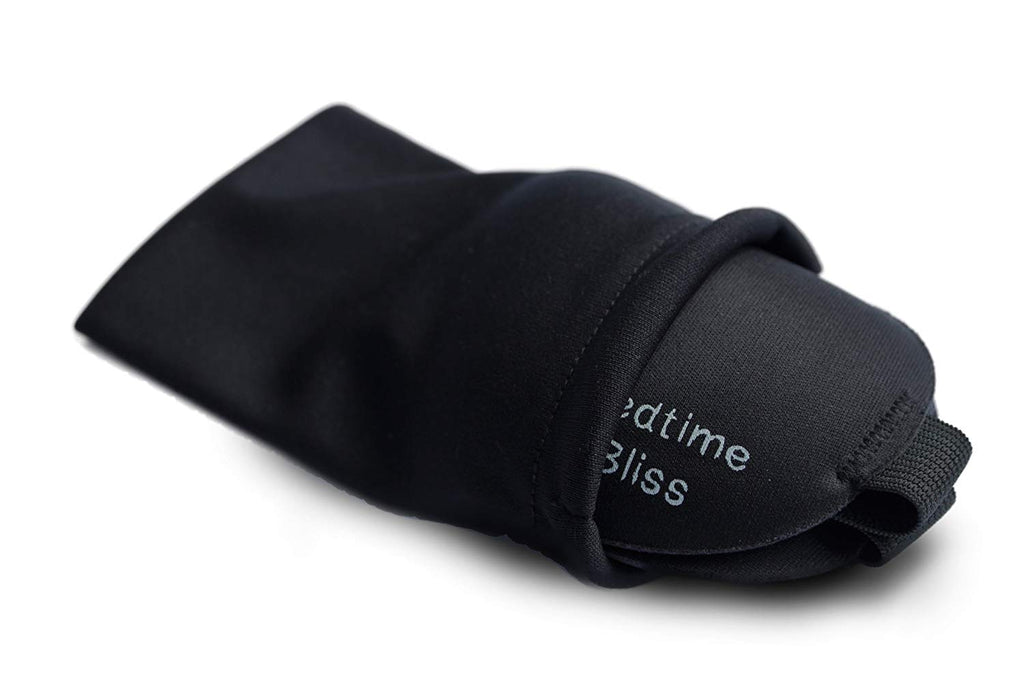 Bedtime Bliss - Eye Mask for Sleeping | Sleep Mask Men / Women Better than Silk Our Luxury BLACKOUT Contoured eye masks are Comfortable - this Sleeping mask set includes Carry Pouch and Ear Plugs