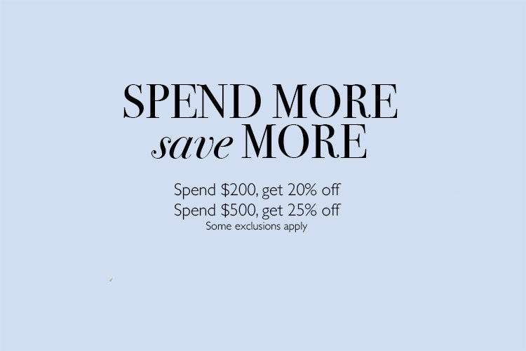 Spend More, Save More Sale