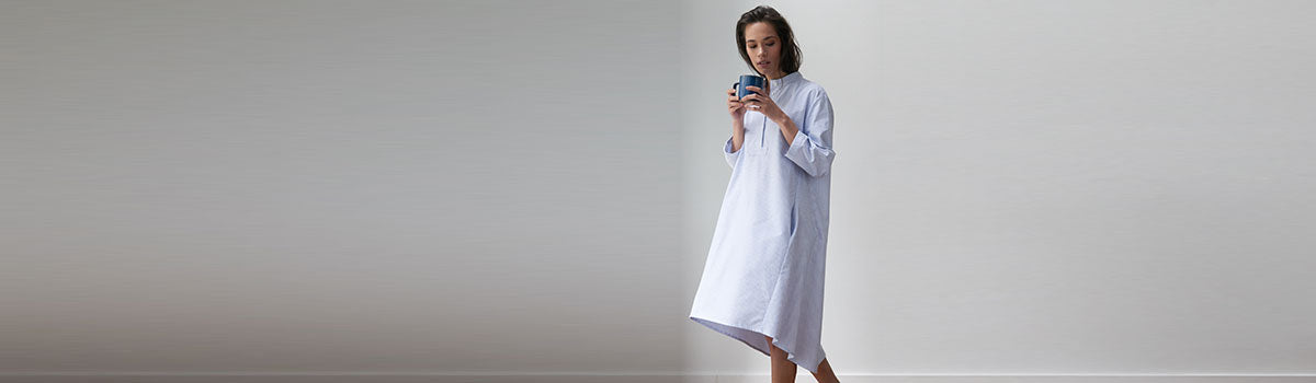 Work From Home in Chic Loungewear from The Sleep Shirt