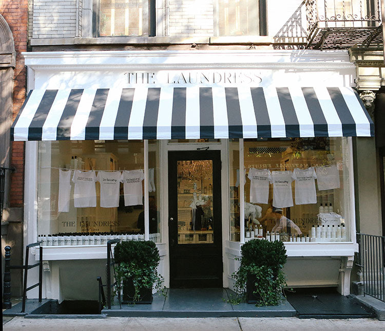 Store front of The Laundress in New York City