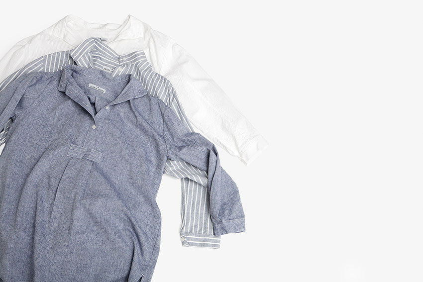 Cotton and linen nightshirts