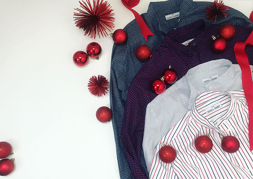 Short and Long Sleep Shirts in holiday fabrics