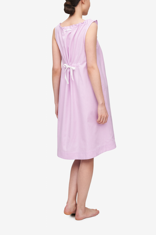 Sleeveless Nightie Rose Royal Oxford