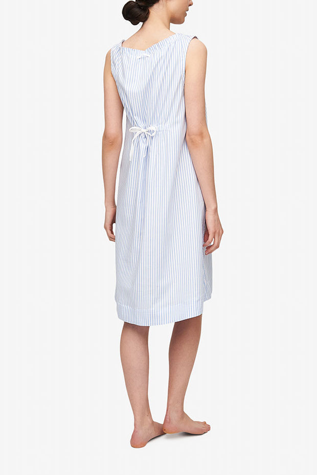 Sleeveless Nightie Sunday Uniform Stripe