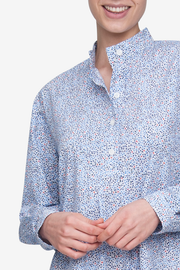 Short Sleep Shirt Sea of Flowers