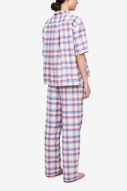 Lounge Pant Pink Carnaby Plaid